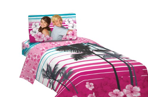 Pink And Black Teen Bedding