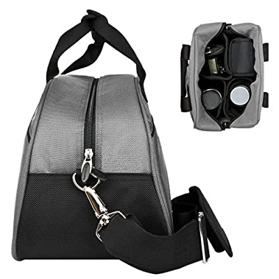 Steel Grey Mithra Edition Stylish DSLR Camera Carrying Bag with Removable Shoulder Strap for EOS SLR Camera Canon Nikon Sony Digital SLR Camera