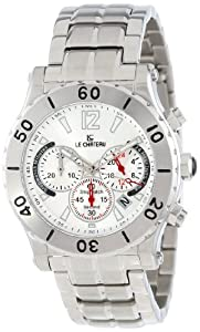 Le Chateau Men's 5437m_sil Sport Dinamica Chronograph Stainless Steel Watch