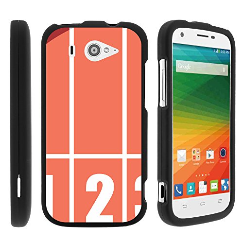 separation shoes 9d514 c22cc ZTE Imperial 2 Phone Cases, Slim Hard Shell Snap On Case with - Import It  All