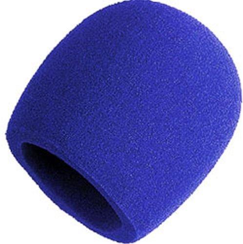 Shure A58Ws-Blu Foam Windscreen For All Shure Ball Type Microphones, Blue