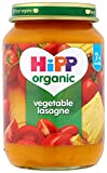 HiPP Organic Stage 2 From 7 Months Vegetable Lasagne 6 x 190 g (Pack of 2, Total 12 Pots)