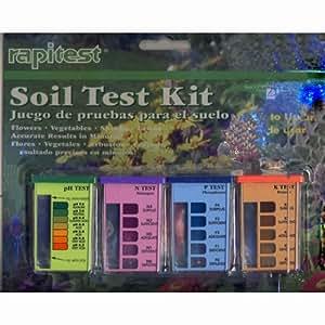 Rapitest soil tester soil testers patio for Garden soil deals
