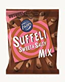 Fazer SUFFELI Sweet & Salty Mix Milk Chocolate Candy Candies Sweets Bag 140g.