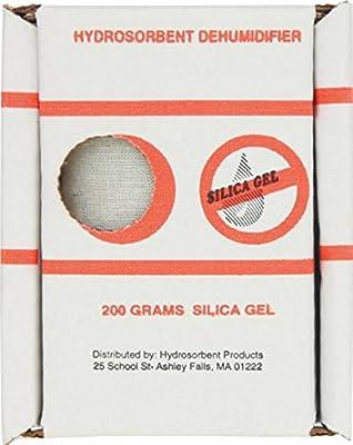 Hydrosorbent Silica Gel Dehumidifier 200 Gram Reuseable