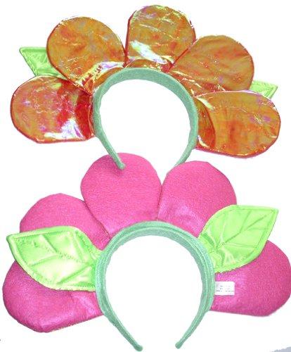 Pink Flower Dress-up Dance Pageant Headband