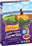 Purina Pet Care Friskies Dry Cat Surf & Turf Variety, 16.2-Ounce (Pack of 12)
