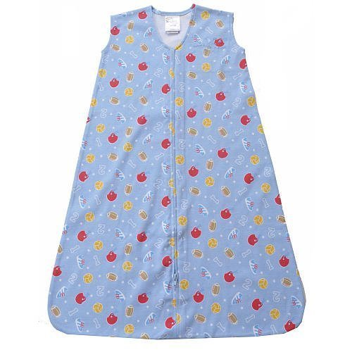 HALO SleepSack Wearable Blanket in Cotton - Sports Print (Medium) - 1