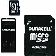 Duracell Micro SD Memory Card With SD And USB Adapter-2GB MICRO SD CARD