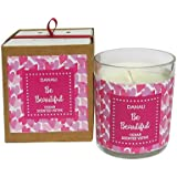 Danali New York Valentine Gift Votive Candle Be Beautiful With Cedar Fragrance