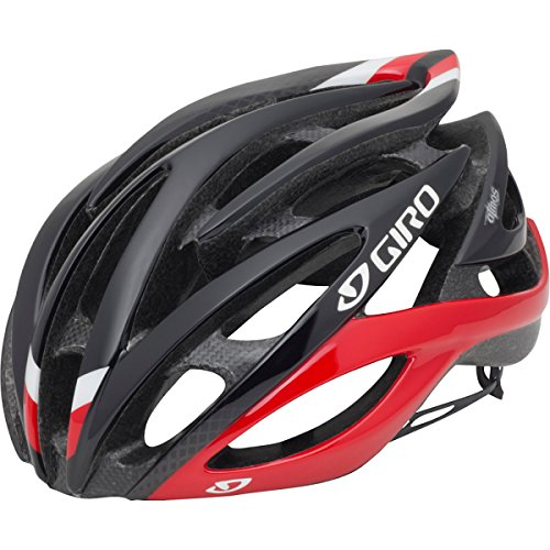 Giro Atmos Cycling Helmet (Red/Black, Large) front-1006692
