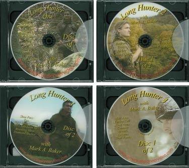 Long Hunter Series, Vol. 1-4 Dvd Mark Baker