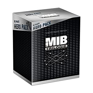 Men in Black - Trilogie - Coffret collector avec la figurine Franck le chien - Edition limitée exclusive Amazon.fr [Blu-ray]
