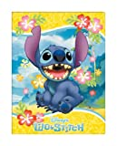 FUJICOLOR album free Disney character EF-10B (BK) Lilo & Stitch [black mount] 11-20 page character Blue 22408 (japan import)