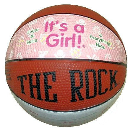 IT'S A GIRL - BasketBall/Toys/Baby Showers/Baketball