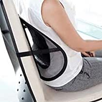 CostMad ® Super Comfort Mesh Lumbar Back Seat Sit Support System Pain Relief
