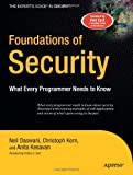 Foundations of Security: What Every Programmer Needs to Know (Expert