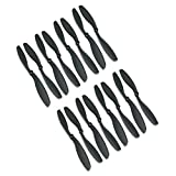RAYCorp-8045-8x45-Propellers-16-Pieces8-CW-8-CCW-Black-High-Quality-8-inch-Quadcopter-and-Mutlirotors-Props-Battery-Strap