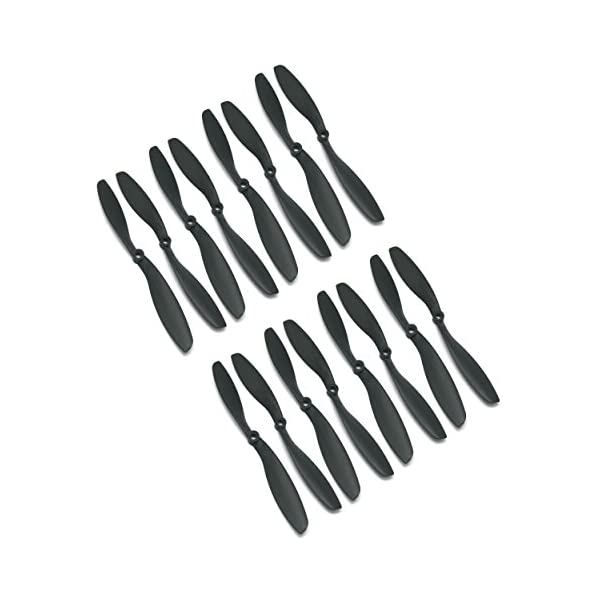 RAYCorp-8045-8×45-Propellers-16-Pieces8-CW-8-CCW-Black-High-Quality-8-inch-Quadcopter-and-Mutlirotors-Props-Battery-Strap