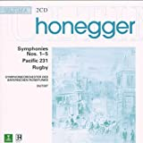Honegger : Symphonies 1 à 5 - Pacific 231 - Rugby