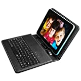 SANOXY PU Leather Carrying Case For 8 Inch Tablet Stand W/ USB Keyboard