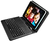 PU Leather Carrying Cover For 8 inch Tablet Stand w/ USB Keyboard + Stylus Pen