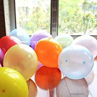 Woodi 12 Inches 12 Color Balloons (140 Pcs)