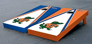 Florida UF Gators Cornhole Game Set Alt Triangle Albert Version Corn Hole by Gameday Cornhole