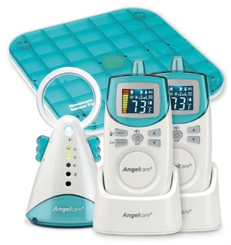 Angelcare AC401 Baby Movement Sensor Pad and Sound Monitor (Deluxe)