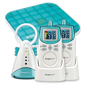 AngelCare Deluxe Movement & Sound Monitor (2 units)