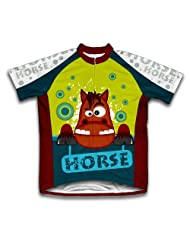 Trusty Steed Short Sleeve Cycling Jersey for Women