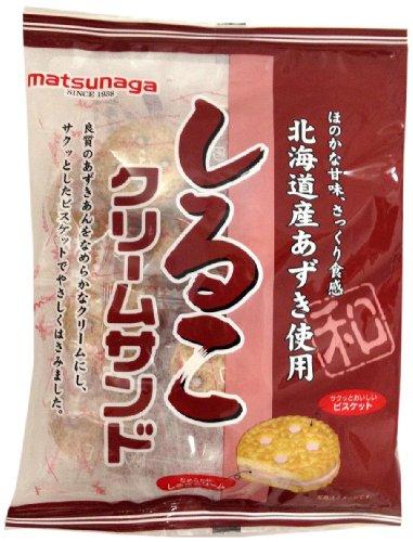 松永製菓 しるこクリームサンド 100g×16袋