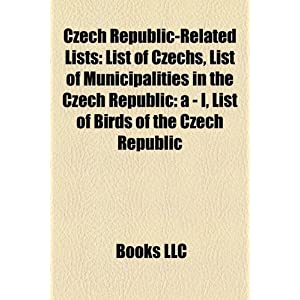Amazon.com: Czech Republic-related lists: List of Czechs, List of ...