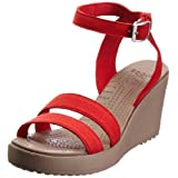 Crocs Leigh Wedge Ankle Strap