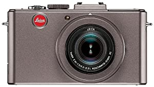 """Leica D-LUX5 10.1 MP Compact Digital Camera with Super-Fast f/2.0 Lens, 3.8x Zoom Lens, 3"""" LCD Display, O.I.S. Image Stabilization (Titanium Special Edition)"""