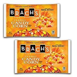 Brach\'s, Corn Candy Corn, 11 Oz Bag (Pack of 2)