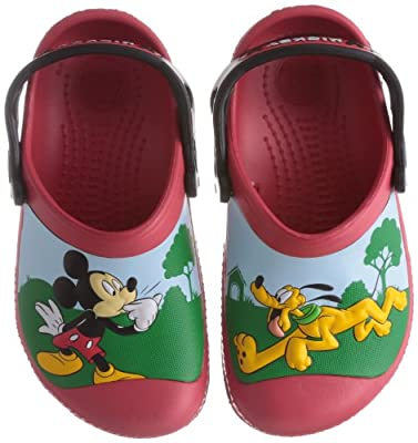 crocs Kids' CC Mickey Whistles Clog