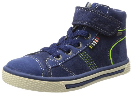 Lurchi Girls Solo-Tex High Blue Blau (navy 22) Size: 10 (28 EU)