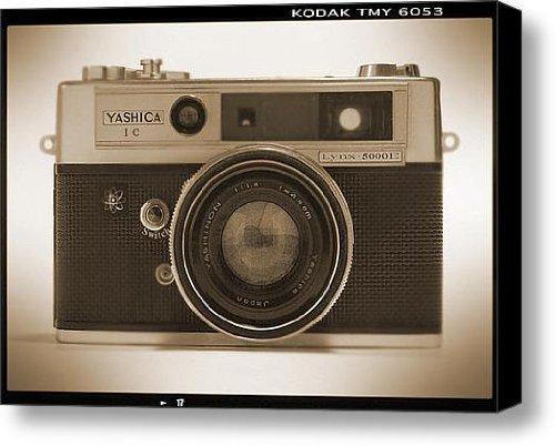 Yashica Lynx 5000E 35Mm Camera Canvas Print / Canvas Art - Artist Mike Mcglothlen