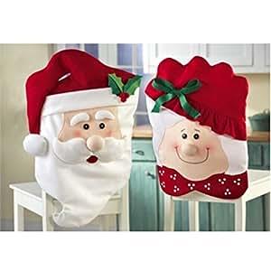Hqdeal coprisedia natalizi motivo babbo natale e - Coprisedia natalizi ...