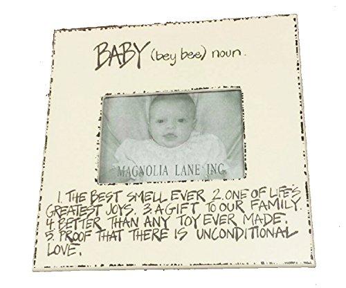 "Magnolia Lane Baby Frame 11"" x 11"""