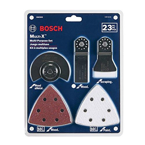 Bosch ボッシュ OSCS23 23ピース マルチツール セット [並行輸入品]
