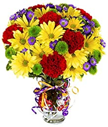 Exotic Blooms - Eshopclub Same Day Flower Delivery - Fresh Flowers - Wedding Flowers Bouquets - Birthday Flowers - Send Flowers - Flower Arrangements - Floral Arrangements