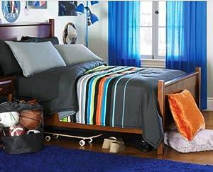 Boys Queen Bedding Buy Gray Blue Amp Green Boys Striped