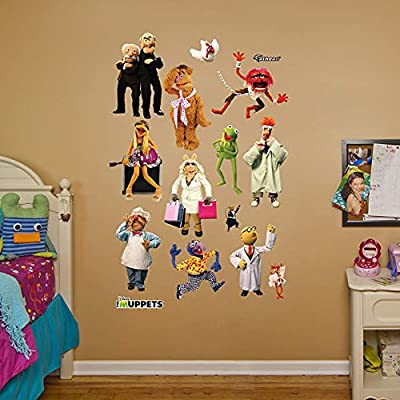 """Muppets Collection - REAL BIG Fathead Wall Graphics Assorted on a 4'4"""" x 6'7"""" sheet (132 cm x 200 cm)"""