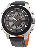 Boss Orange Men's Chunky Grey Leather Strap 1512680