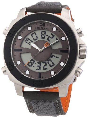 Boss Orange Men's Watch Digital 1512680 Nylon