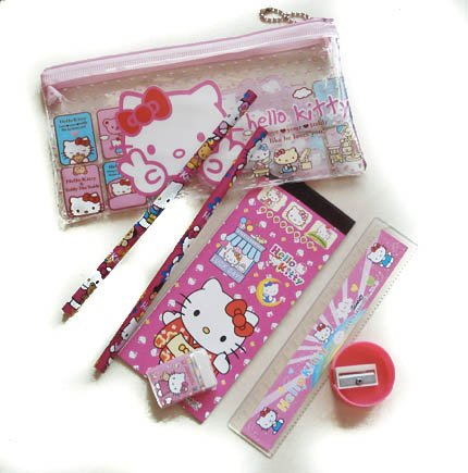 hello-kitty-pencil-case-and-stationary-set-with-7-pieces-case-2-pencils-rubber-sharpener-ruler-and-s
