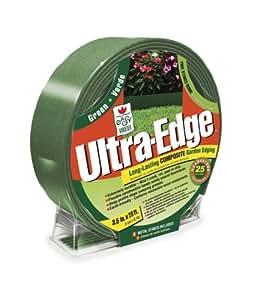 Easy Gardener 8415 Ultra Edge Composite Landscape Edging With 25 Year Warranty - 16-Foot Green
