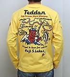 テッドマン TEDMAN 長袖Tシャツ テッドン TEDDON 富士五湖エフ商会 TDLS-301 カスタード色 エフ商会 ロンT アメカジ